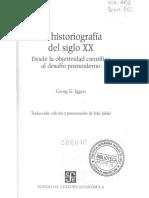 Iggers, Georg-La Historiografía Del Siglo XX, El Giro Lingüístico
