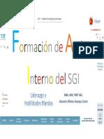 Formación de Auditor Interno Del SGI Oxford Group Giovanni Alfonso Huanqui Canto