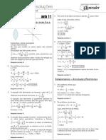 Física - Caderno de Resoluções - Apostila Volume 3 - Pré-Universitário - Física3 - Aula11