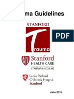 Stanford_Trauma_Guidelines June 2016 Draft Adult and Peds FINAL