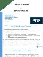 Caso Cooper Industries Inc