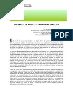 Sarmiento Palacio, Eduardo. Colombia. Un Modelo Económico Alternativo