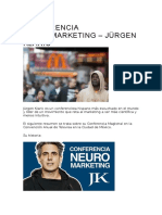 Conferencia Neuromarketing – Jürgen Klaric