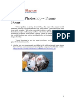 Tutorial Photoshop - Frame Focus