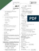 Física - Caderno de Resoluções - Apostila Volume 4 - Pré-Universitário - Física1 - Aula17