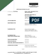 MONITOREO OCUPACIONAL- PARTICULADO