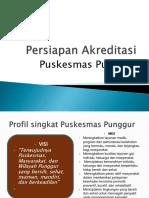 Presentasi Persiapan Akreditasi Punggur