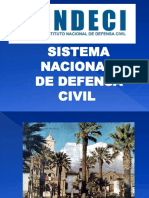 SISTEMA NACIONAL DE DEFENSA CIVIL INDECI