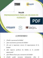 Diseño de Presentación Heladas en Huanuco