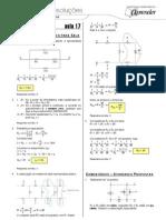 Física - Caderno de Resoluções - Apostila Volume 4 - Pré-Universitário - Física2 - Aula17