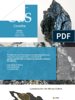 Proceso de Beneficio de la Covelita (Covelline) CuS