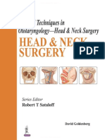 2016 Surgical Techniques in Otolaryngology, HEAD and NECK SURGERY