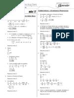 Física - Caderno de Resoluções - Apostila Volume 4 - Pré-Universitário - Física3 - Aula17
