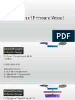 Design of Pressure Vessel