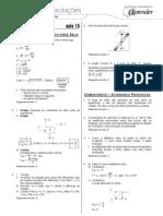 Física - Caderno de Resoluções - Apostila Volume 4 - Pré-Universitário - Física4 - Aula19
