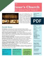 st saviours newsletter - 10 sept 2017