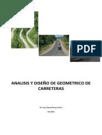 Analisis y Diseño Geométrico Carreteras-DG-2013