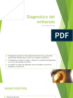 Diagnostico Del Embarazo