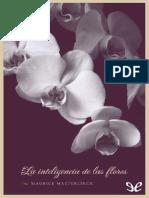 Maeterlinck Maurice - La Inteligencia de Las Flore