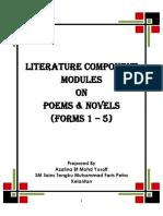 MODULES FOR POEMS & NOVELS -     AZALINA.docx