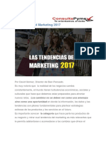 Tendencias Del Marketing 2017