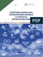 Adaptarea Agendei 2030 de Dezvoltare Durabila La Contextul Rm