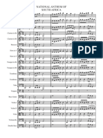 National Anthem - Score and Parts