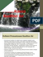 Pengantar Pemantauan Kualitas Air