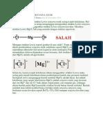 Struktur Lewis Senyawa