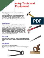 Carpentry Hand Tools