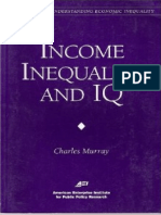 (AEI Studies on Understanding Economic Inequality) Charles a. Murray-Income Inequality and IQ-AEI Press (1998)