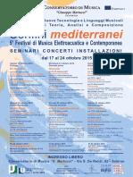 Conservatorio Salerno - Confini Mediterranei 2015