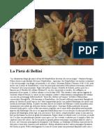 La Pietà Di Bellini