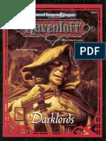 AD&D - Ravenloft  Darklords