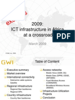 GWI - African ICT Infrastructure - IC and Backbone - Excerpts - Apr-09