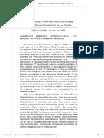 1. AMEXCO v. Cordero
