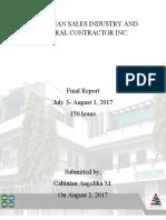Cabinian Final Report.pdf