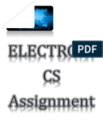 Electronics Assignment