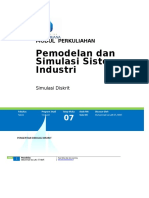 Modul Pemodelan Dan Simulasi Sistem Industri [TM7]