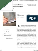 Reviu Kertas Kerja, Temuan Audit Dan Teknik Penulisan Laporan Hasil Audit Yang Efektif - Maret - LPFA