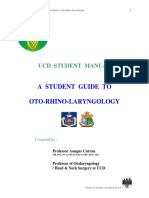 UCD Otolayrngology Guide