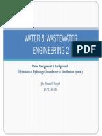 Water & Waste Water Engineering 2
