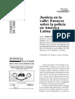Justicia en la calle