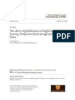 The Effects of Globalization on English Language Learning- Perspe