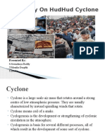345392919 Case Study on HudHud Cyclone