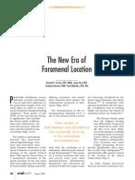 Foramenal Location New Era