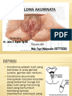 3. Kondiloma Akuminata