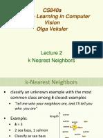 Lecture2 Knn