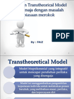 Penerapan Transtheorical Model-merokok.ppt