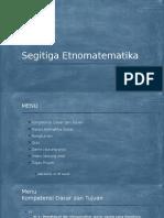 Segitiga Etnomatematika